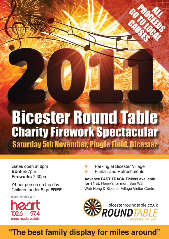 Nolan Oils are Supporting Bicester Fireworks