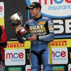 Triple podium for Mason in Superbike season finale
